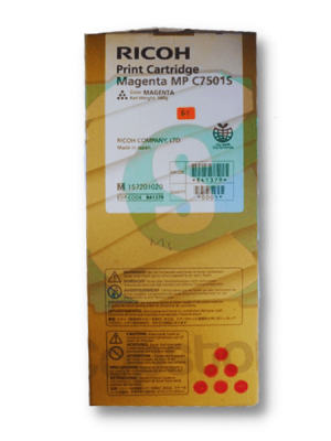 Original Ricoh Magenta Toner Cartridge MPC6501SP MPC7501SP