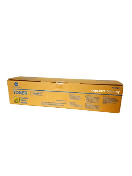 Original Konica Yellow Toner Cartridge BIZHUB C353 BIZHUB C352P