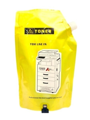 Compatible Sharp Yellow Toner Packet 400g (ARRIS) + MX-51ATY CHIP MX4110N MX4111N MX4140N MX4141N MX5110N MX5111N MX5140N MX5141N