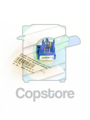 Compatible Sharp Black Toner Chip (ARRIS) MX2600 MX3100 MX3101 MX2301